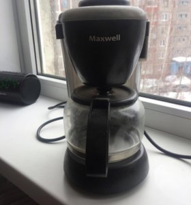 Кофеварка Maxwell me-1650