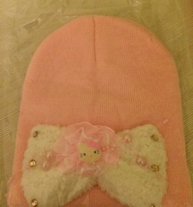 Шапка детская Hello Kitty