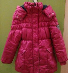 Куртка на девочку р.122