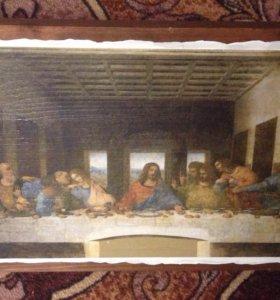 Репродукция фрески