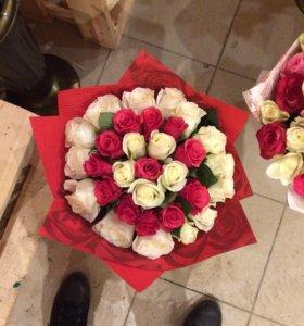 Букет цветов Спираль