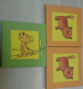Картины для оформления детской комнаты