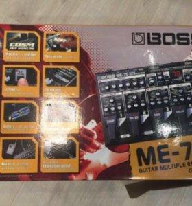 Гитарный процессор эффектов boss ME-70 для электро