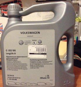 Масло моторное синтет. 5w-30 для Фольксвагена