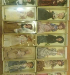 Фарфоровые куклы (Дамы Эпохи)