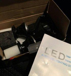 Лампы LED H4 CREE
