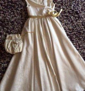 Платье для девочки 122-128рост
