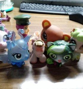 Игрушки для дитей винкс , пони ,Маша и LPS