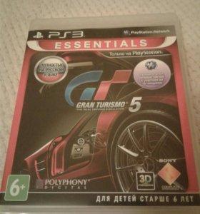 Диск GRAN TURISMO 5 на PS3
