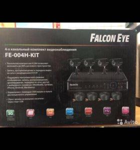 Видеонаблюдение Falcone Eye 4-х канальный