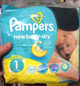 Pampers 27 шт.