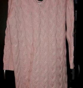 Одежда женская платье вязанное