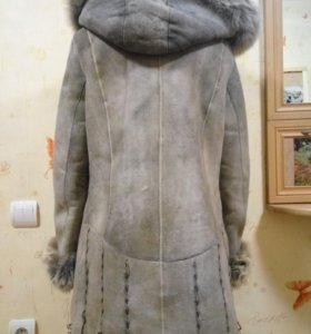 Дубленка,натуральная,пальто женское