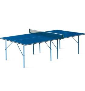 Новый Теннисный стол Hobby с сеткой
