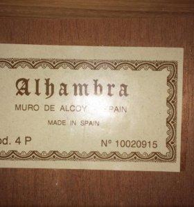 Гитара Alhambra 4P made in Spain