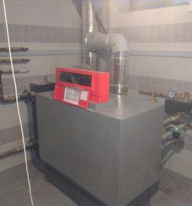 Монтаж отопления, установка - сервис котлов