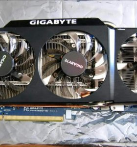 Видеокарта Gigabyte GeForce GTX 580ti 1536Mb 384bi