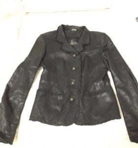 Кожаный пиджак/куртка