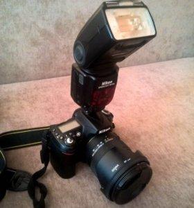 Nikon d90 + Sigma 17-50 f2.8 + Nikon SB900