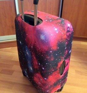 Чехол для чемодана новый