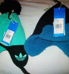 Детские шапки adidas новые
