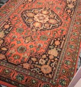 Чистый шерстяной ковёр 2.5*1.5 м