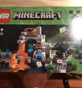 Lego minecraft набор
