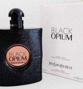 YSL Парфюмерная вода Black Opium 90 ml tester
