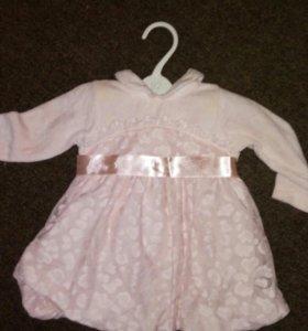 Платье(3-6мес)