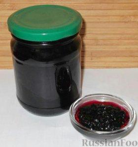 Варенье из облепихи и чёрной смородины