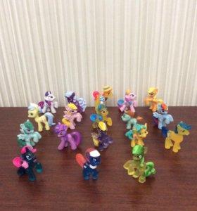 Коллекция мини пони , по отдельности за 100₽