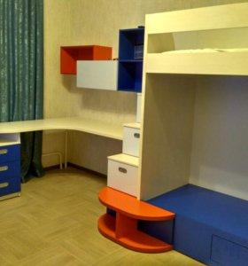 Дизайн, изготовление детской мебели