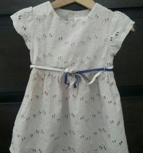 Платье Zara 12-18 m