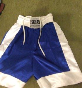 Боксерская форма синего цвета , размер S-L