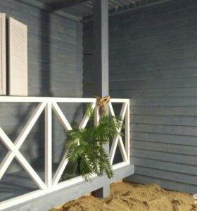 """Фотозона """"Гавайский домик!"""