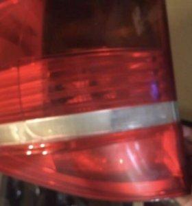 Задние фонари на BMW X5