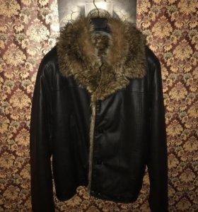 Мужская куртка Б/У зима