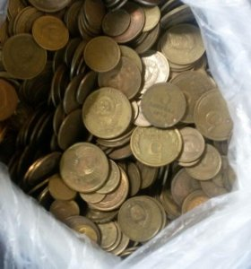 Собираю монеты СССР