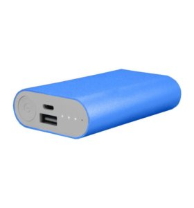 Power Bank Mi 5200mAh синий цвет