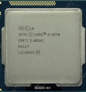 процессор i5 3570, сокет 1155