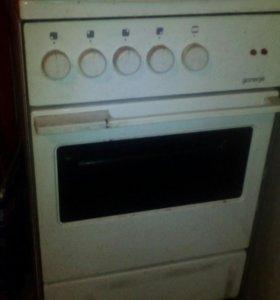Электрическая кухонная печь горения