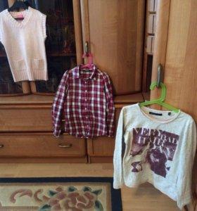 Кофта, рубашка, жилетка