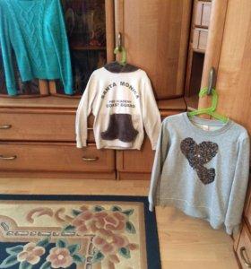 толстовки и свитер