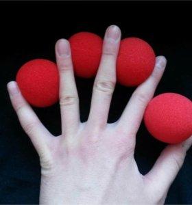 Поролоновые шарики для фокусов