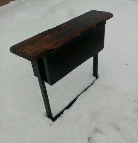 Новые скамейки с ящиком и без ящика