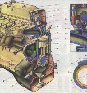 Продам двигатель 2109
