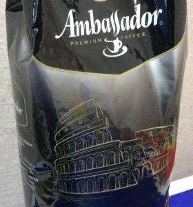 Кофе Ambassador (Амбассадор) в зернах Nero 1kg