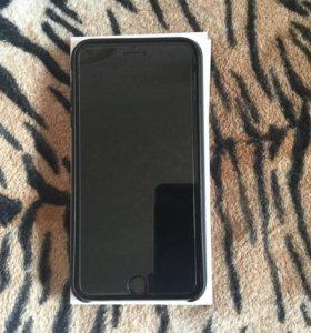 iPhone 6s Plus 128gb Black and Black Case Apple
