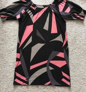 Платье трикотажное 56 размера