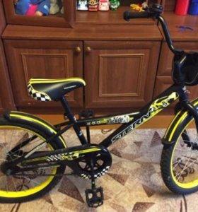 Абсолютно новый велосипед